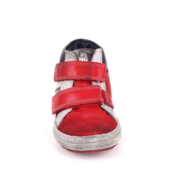 Pinocchio Pinocchio Sneaker P1523 Gomez Rood Klitterband