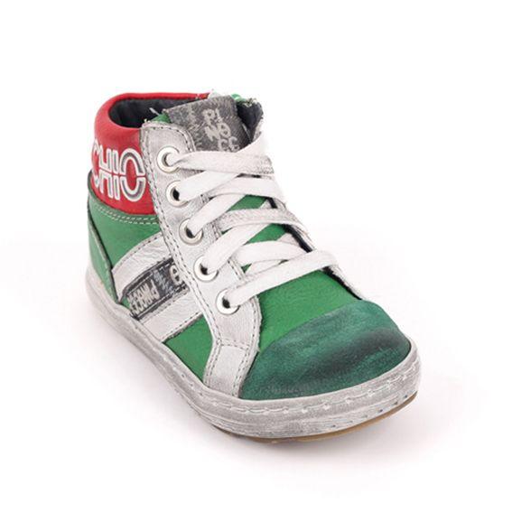 Pinocchio Pinocchio Sneaker P1522 Gomez Green Laced