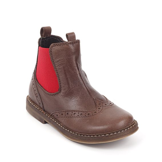 Pinocchio Pinocchio Boot P1510 Tim Brauwn Elastic With Zip