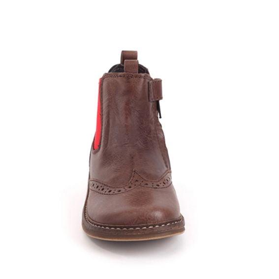 Pinocchio Pinocchio Boot P1510 Tim Brauwn Elastic With Zip