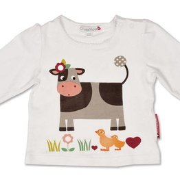 Olive & Moss Olive & Moss Collette the Cow Classic Day Long Sleeved T-Shirt