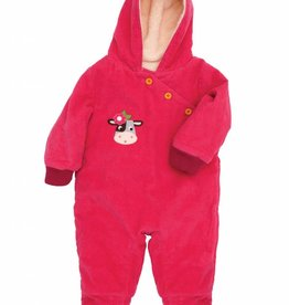 Olive & Moss Olive & Moss Collette the Cow Corduroy Snowsuit