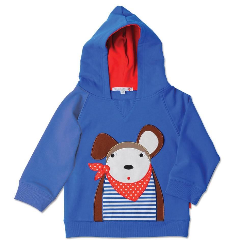 Olive & Moss Olive & Moss Douglas the Dog Hooded Sweatshirt