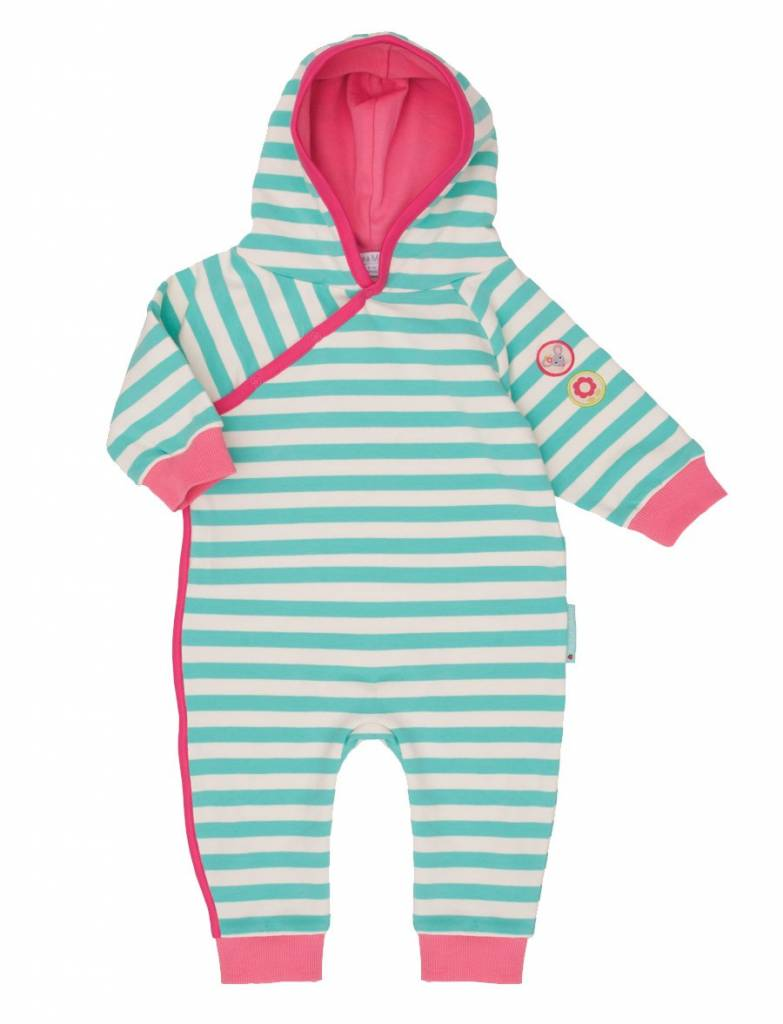 Olive & Moss Olive & Moss Margot the Mouse Romper Capuchon