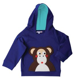 Olive & Moss Olive & Moss Michael the Monkey Sweatshirt Capuchon