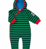 Olive & Moss Olive & Moss Michael the Monkey Hooded Romper