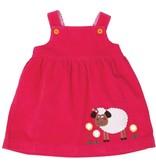 Olive & Moss Olive & Moss Sheila the Sheep Corduroy Pinafore Dress