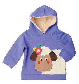 Olive & Moss Olive & Moss Sheila the Sheep Fleece Lined Hood Sweatshirt