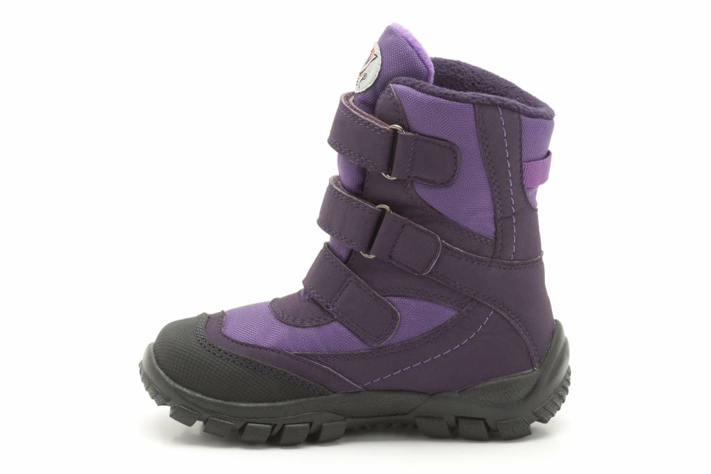Clarks Clarks Snow Day G Purple Synthetic Junior Snow boot