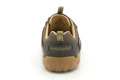 Clarks Clarks Stompo Jaw Brown Leather Infant