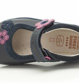 Clarks Clarks Softly Candy Navy Leather First