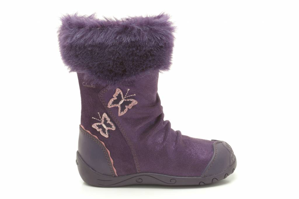 Clarks Clarks Pippy Rose Purple Suede First