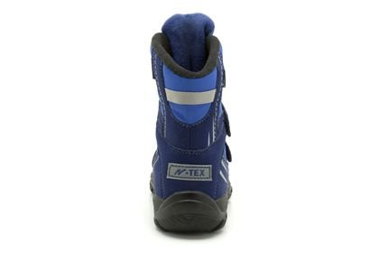 Clarks Clarks Snow Day B Navy Synthetic Junior Snow boot