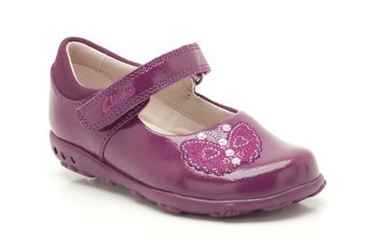 Clarks Clarks Ella Fly Berry Patent First