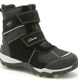Clarks Clarks Hux Ice GTX Black Suede Junior Snowboot