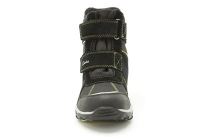 Clarks Clarks Hux Ice GTX Black Suede Junior Snowboot