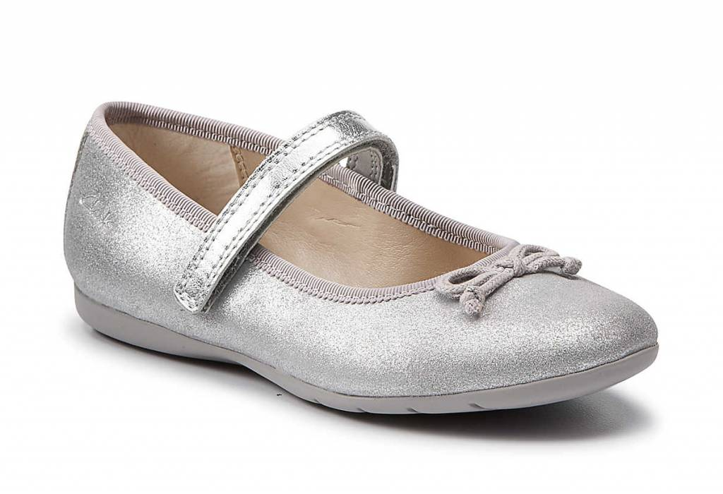 Clarks Clarks Dance Hope Silver Infant