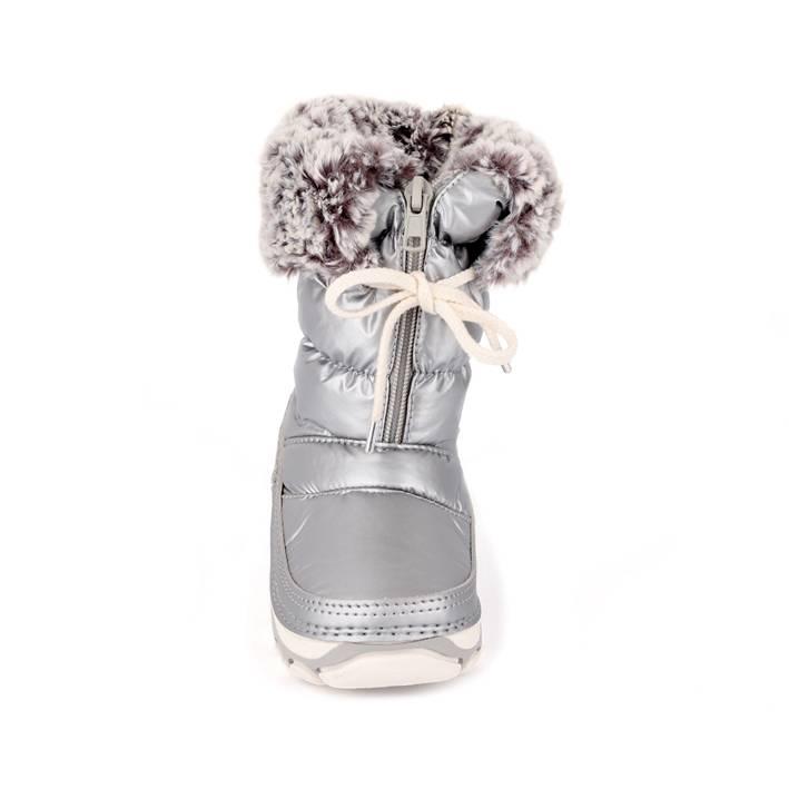 Antarctica Children's Snow Boot Silver