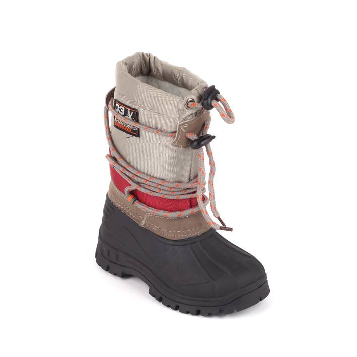 Kinder Snowboot Taupe