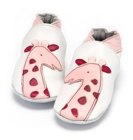 Baby Dutch Baby Dutch Baby Slofjes Roze Giraf
