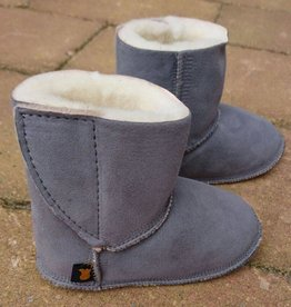 Baby Dutch Baby Dutch Ankle Boot Slippers Grey