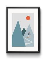 Art Print Skitour