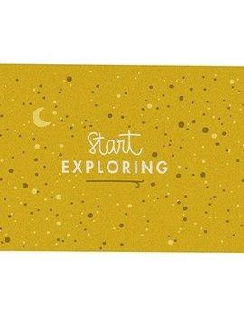 Postkarte Start exploring