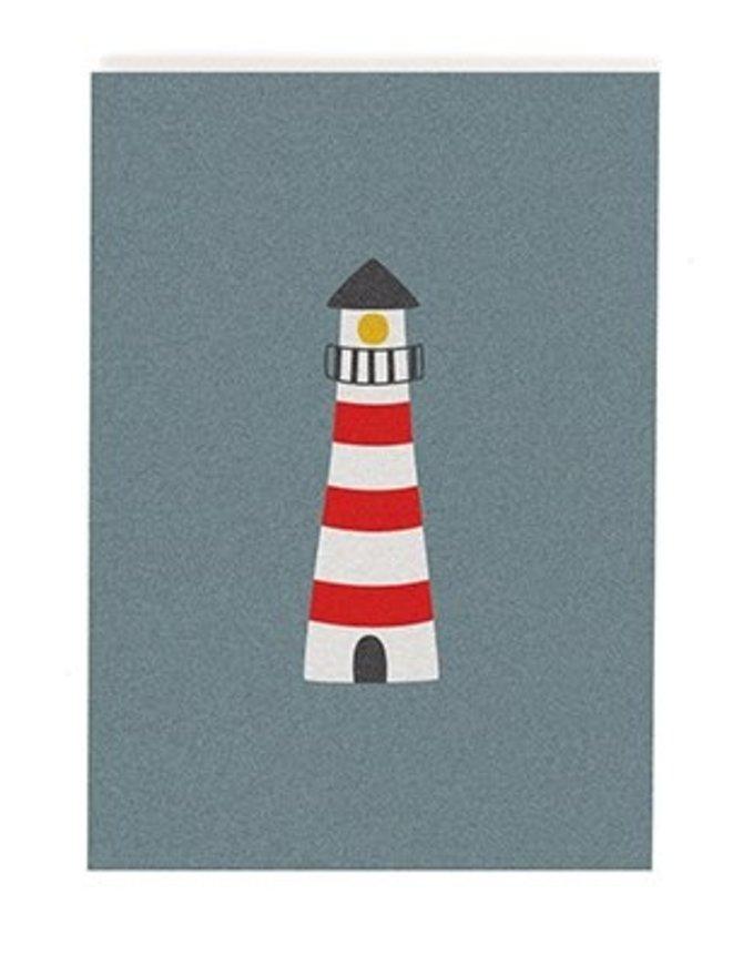 Postkarte Leuchturm