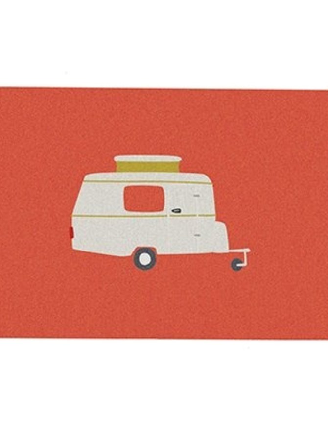 Postcard caravan