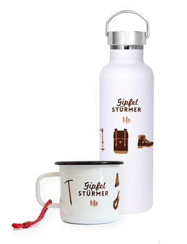 SET Mug & Bottle Gipfelstürmer