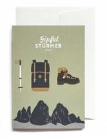 Grußkarte GIPFELSTÜRMER
