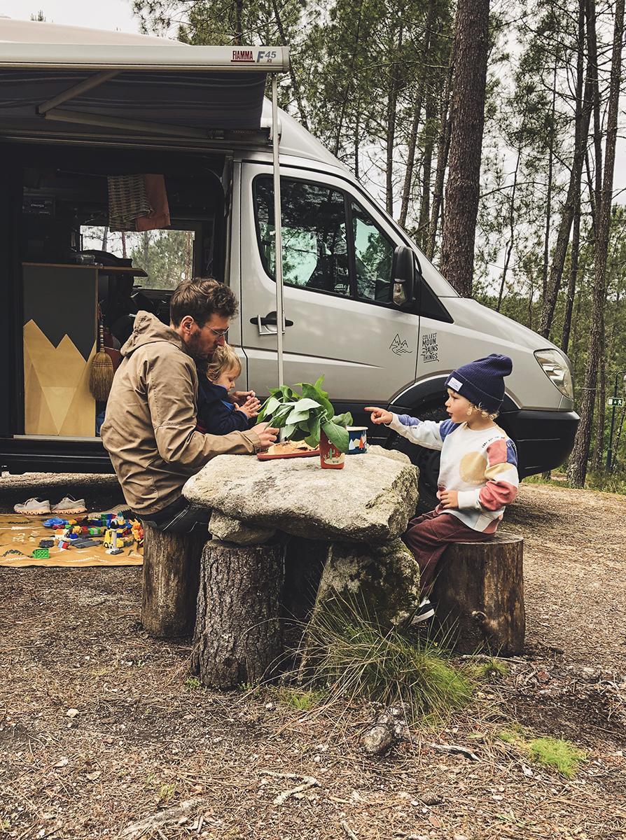 Roadtyping Packliste Vanlife mit Kindern Frühjahr Sommer