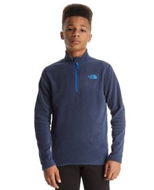 The North Face Kids 100 Glacier 1/4 zip Fleece
