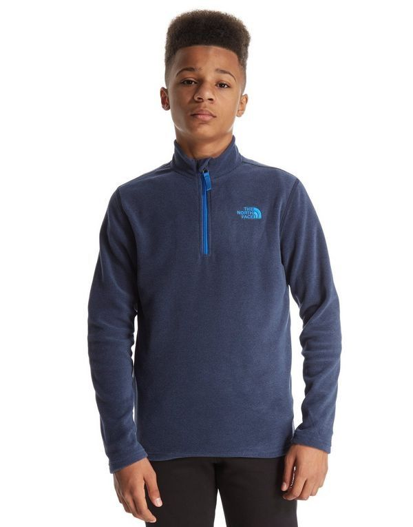 a79562014 The North Face The North Face Kids 100 Glacier 1/4 zip Fleece ...