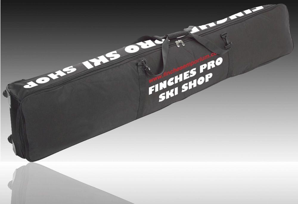 Finches Wheelie Double Ski Bag