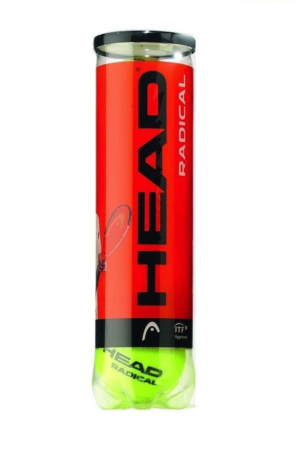 Head Head Radical Tennis Balls 4's