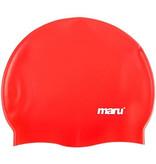 Maru Maru Silicone Red Swim Caps