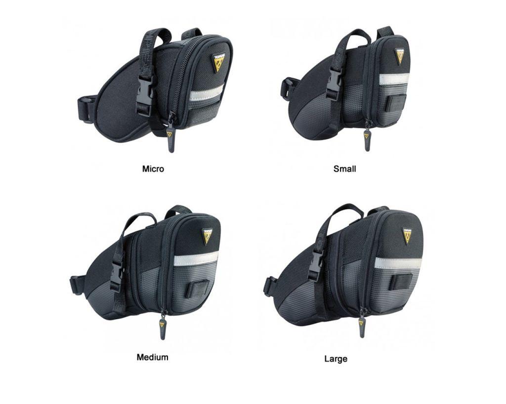 Extra Topeak Wedge Aero With Straps Saddle Bag