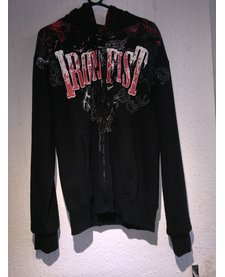 Iron Fist Angel Of Death Reversible Zip Hoodie