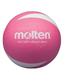 Molten SV2P Volley Ball Non-Sting Pink size 5