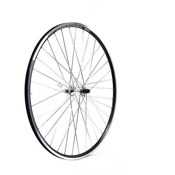 Madison Front Wheel Al/Blk 700 Q/R dwr