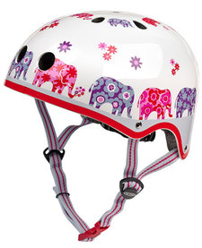Micro Scooter Patterned Helmet