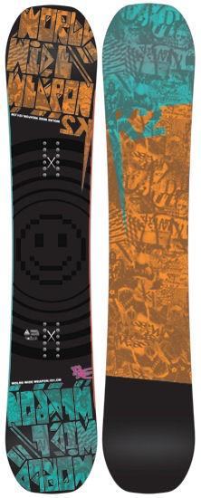 K2 K2 WWW Rocker Snowboard