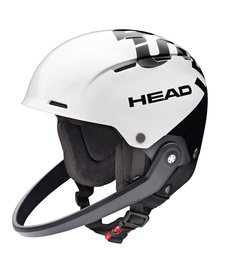Head Team SL White/Black Helmet