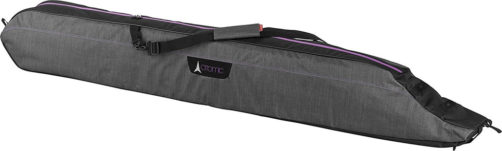 Atomic Atomic W Single Ski Bag Padded Heather Grey adj 165-185cms