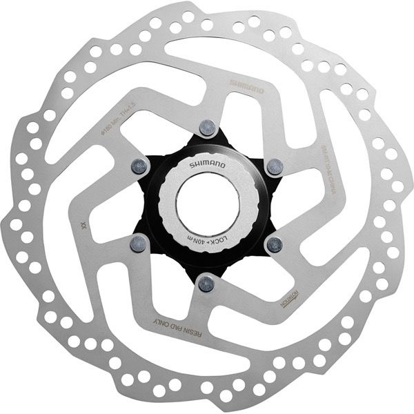 Madison Shimano SM-RT10 Tourney TX Centre-Lock disc rotor, for resin pad only, 160 mm