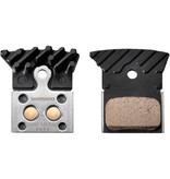 Madison L04C disc brake pads, alloy backed with cooling fins, metal sintered