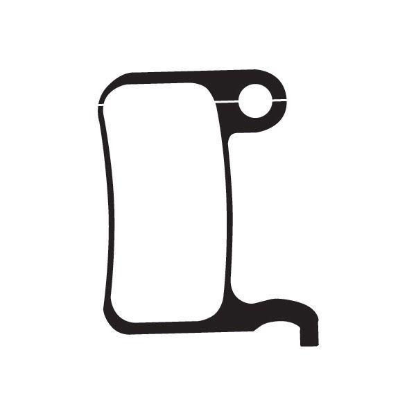 Madison Organic disc brake pads for Shimano M965 XTR / M966 callipers