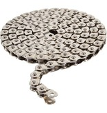 Arcane Pitch 102 Half Link Chain 1/2 x 1/8 Inch Silver 102 Links