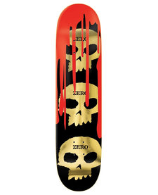 Zero Deck 3 Skull Blood Gold Burman 8.5″